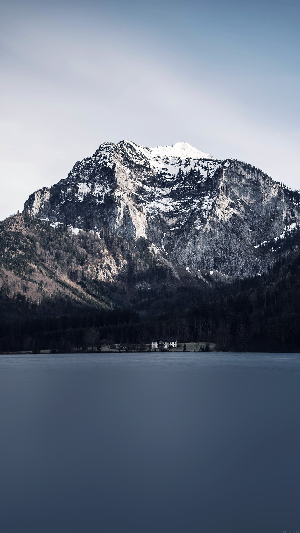 Iphone7papers Mi98 Mountain Lake View Paul E Harrer Nature