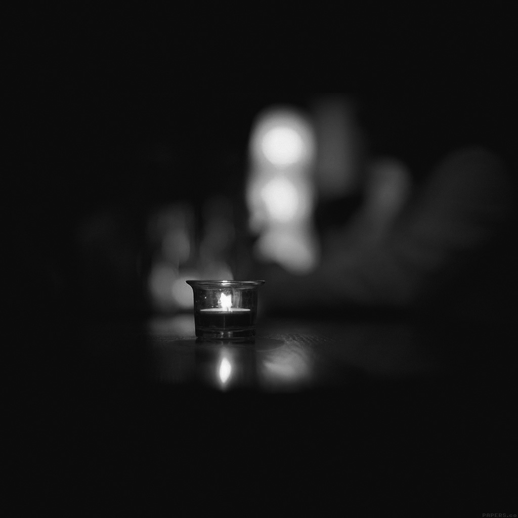 android-wallpaper-mj14-candle-light-night-bw-bokeh-romantic-wallpaper
