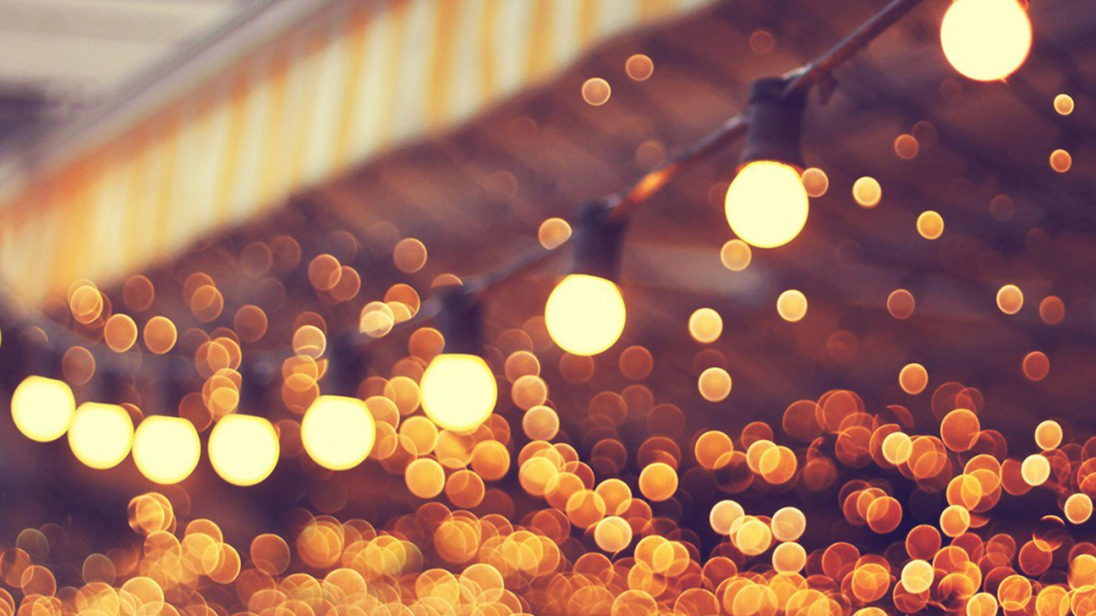 Mj18 City Light Blue Bulbs Romantic Street Papers Co