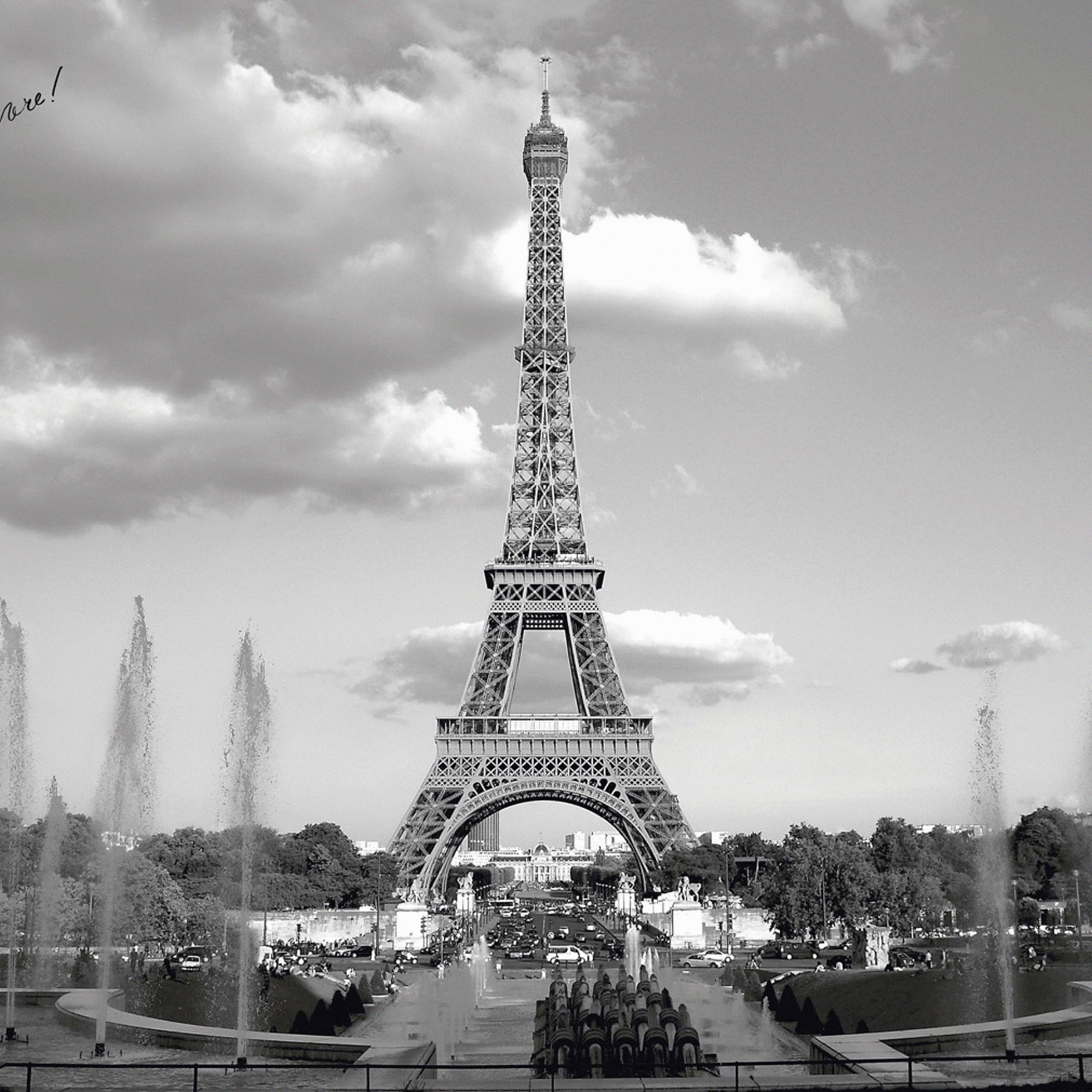 Mj38 Paris With Eiffel Tower France City Papers Co