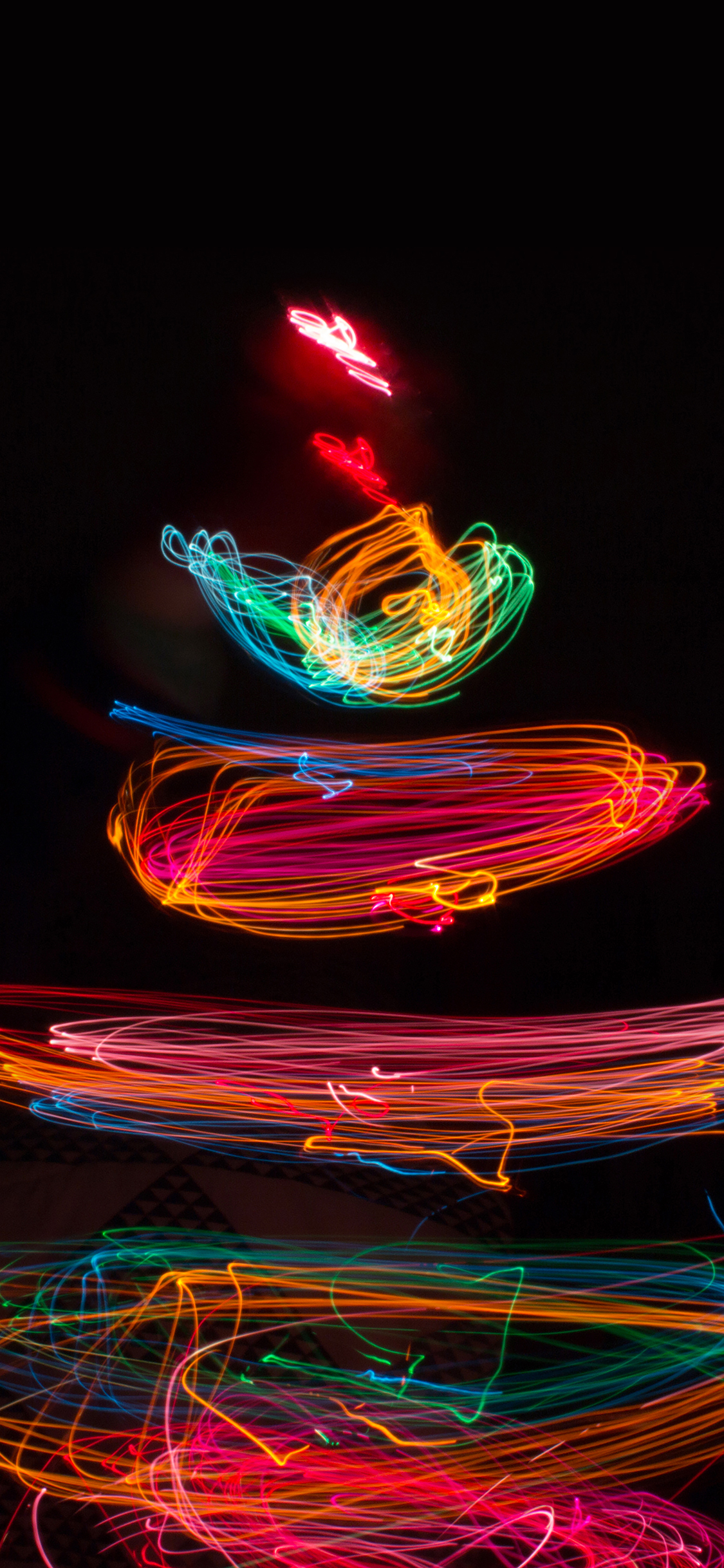 Papers Co Iphone Wallpaper Mj46 Christmas Tree Lights Art Bokeh
