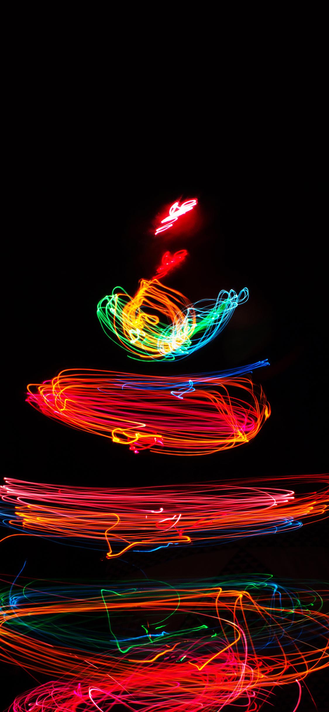 Iphonepapers Mj47 Christmas Tree Happy Lights Art Bokeh