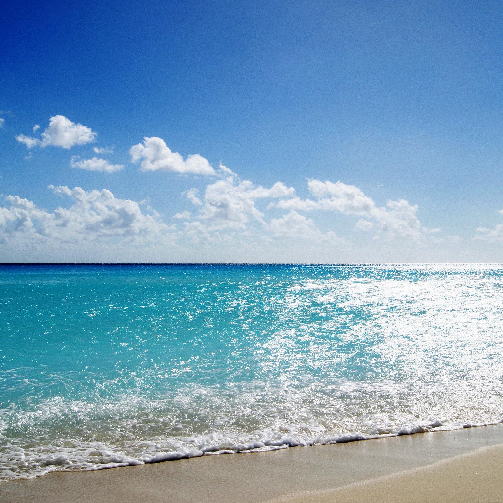 Hd Ocean Wallpaper: Mj67-sea-water-ocean-sky-sunny-nature