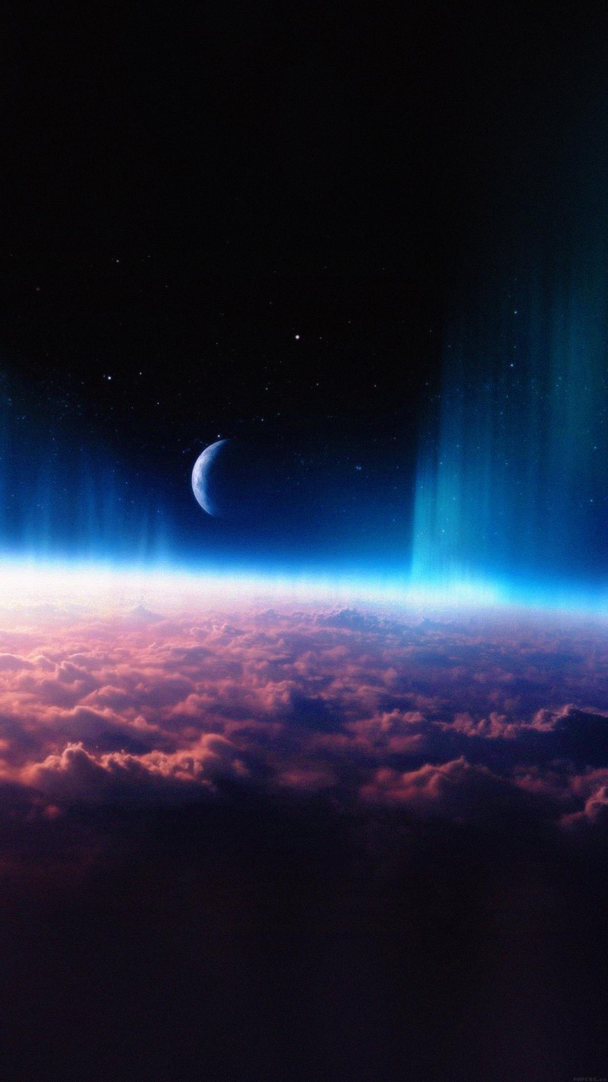 Iphone6papers Mj70 Space Interstellar Sky Free Cloud Nature