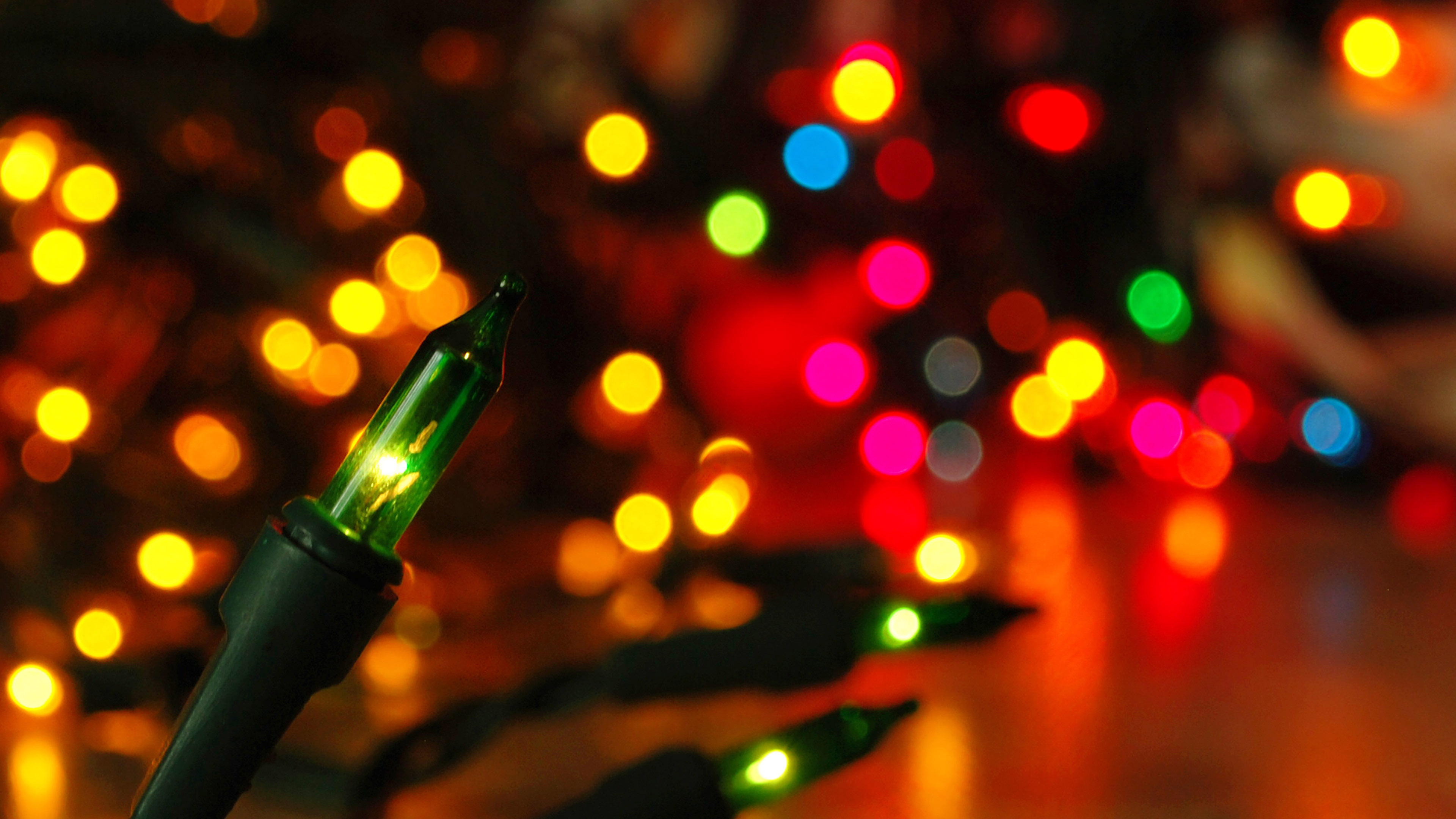 papers.co mj85 christmas lights holiday bokeh 35 3840x2160 4k wallpaper