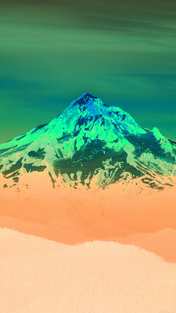 iPhone6papers.co-Apple-iPhone-6-iphone6-plus-wallpaper-mk17-green-sunset-snow-mountain-nature