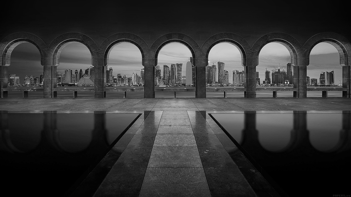 iPapers.co-Apple-iPhone-iPad-Macbook-iMac-wallpaper-mk31-dubai-road-bridge-dark-bw-city-nature-wallpaper