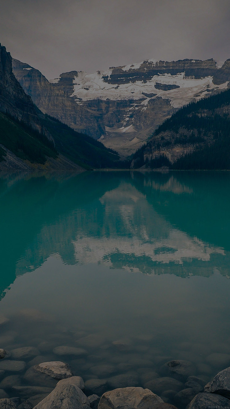 iPhone6papers.co-Apple-iPhone-6-iphone6-plus-wallpaper-mk49-canada-lake-dark-louise-green-water-nature