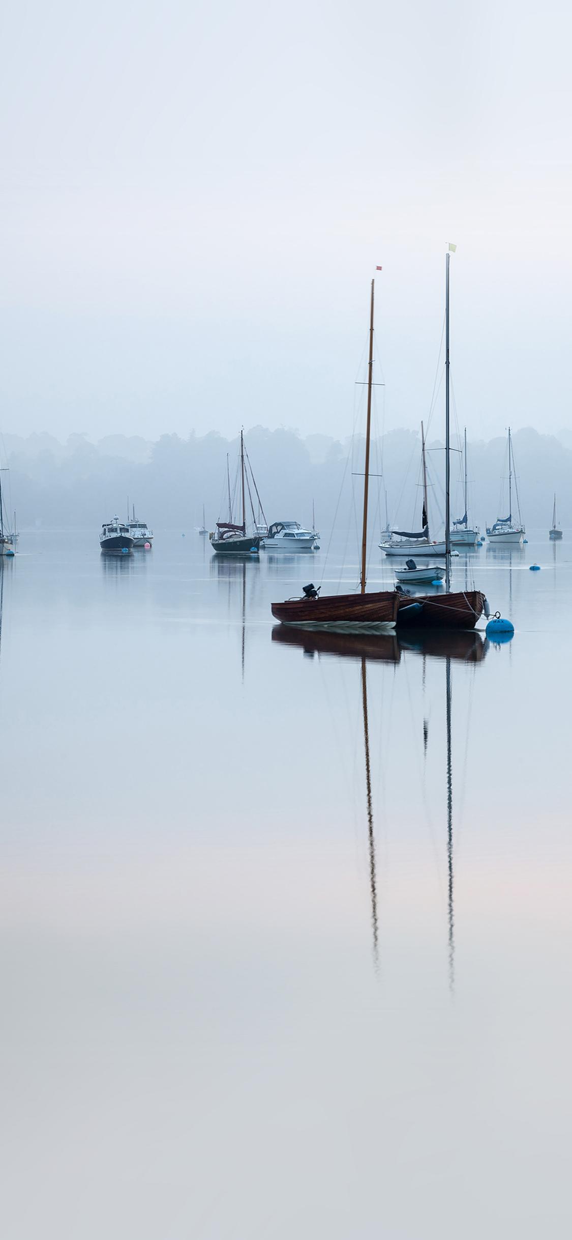 iPhoneXpapers.com-Apple-iPhone-wallpaper-mk75-sea-port-boats-nature-minimal