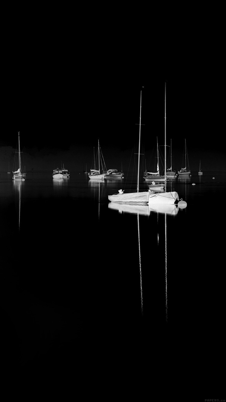 iPhone6papers.co-Apple-iPhone-6-iphone6-plus-wallpaper-mk77-sea-port-boats-bw-dark-nature-minimal