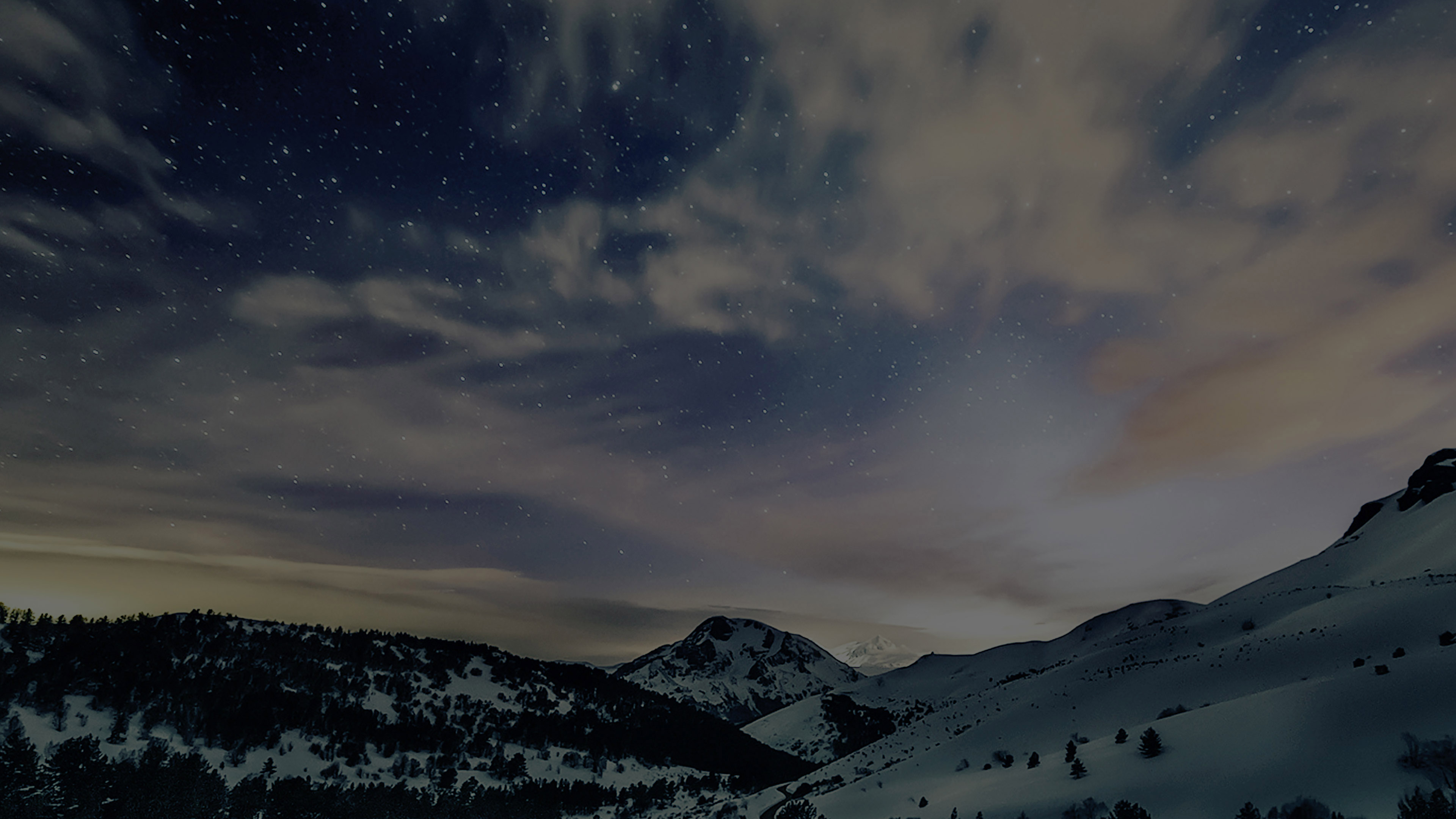 Mk80-aurora-star-sky-snow-dark-night-mountain-winter