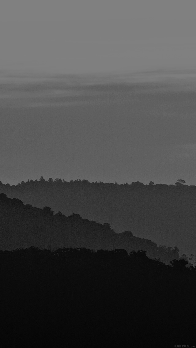 freeios8.com-iphone-4-5-6-plus-ipad-ios8-mk87-dark-mountain-morning-sunrise-nature-bw