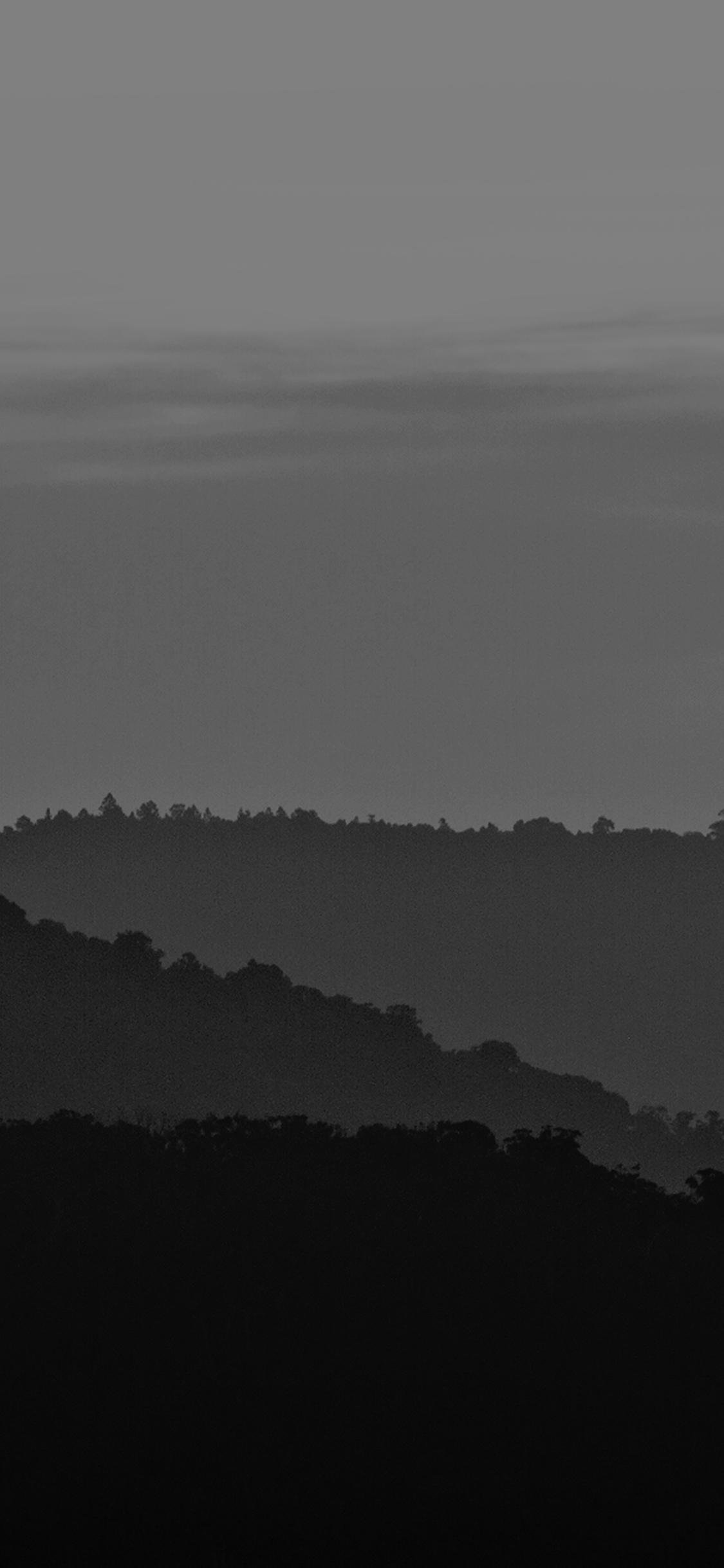 iPhonexpapers.com-Apple-iPhone-wallpaper-mk87-dark-mountain-morning-sunrise-nature-bw