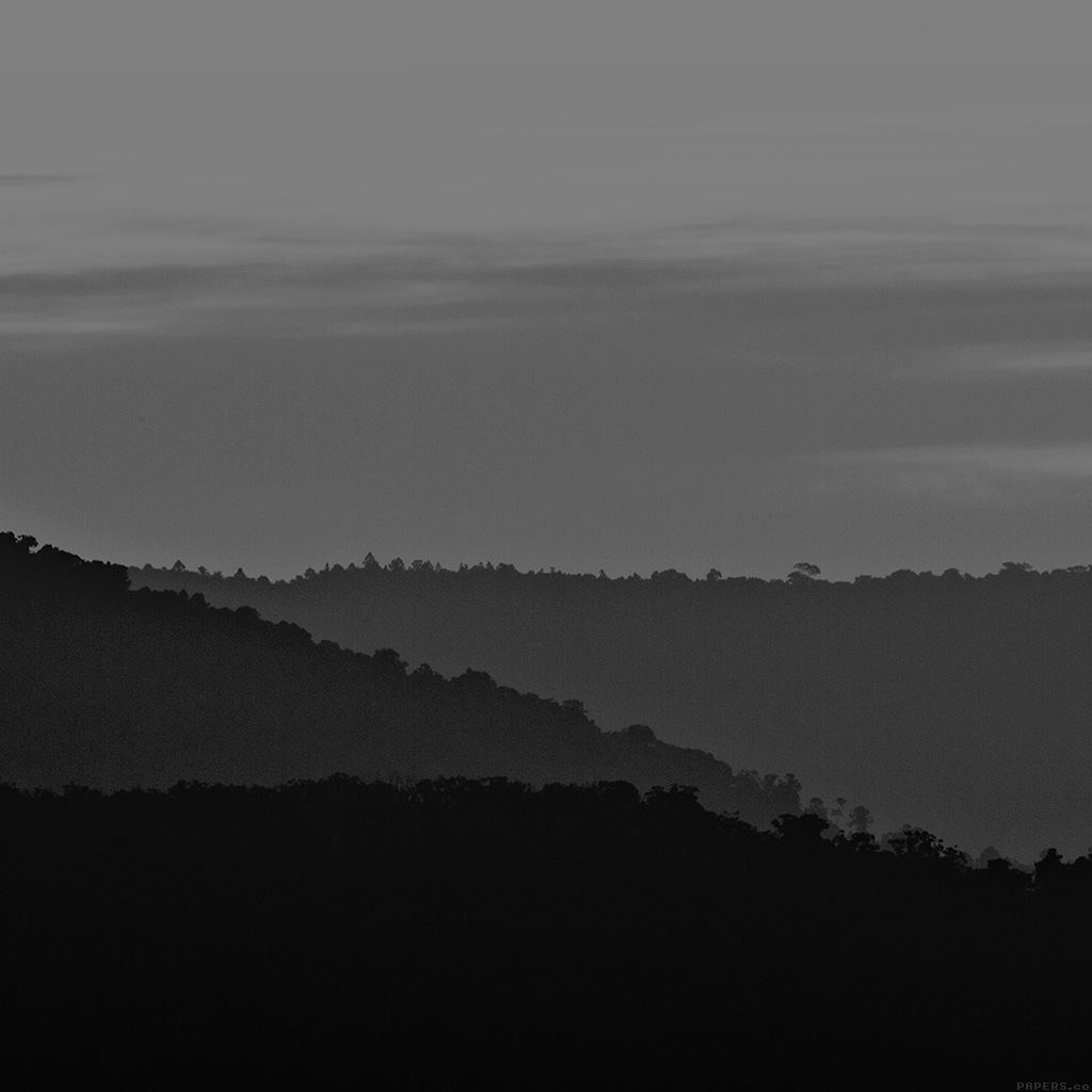 android-wallpaper-mk87-dark-mountain-morning-sunrise-nature-bw-wallpaper