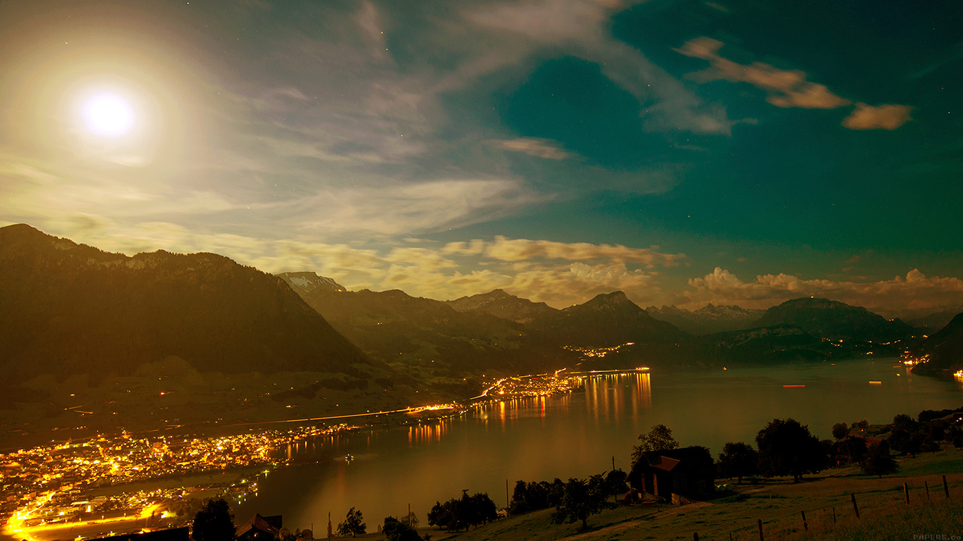 desktop-wallpaper-laptop-mac-macbook-airmk91-lake-mountain-city-village-night-light-nature-wallpaper