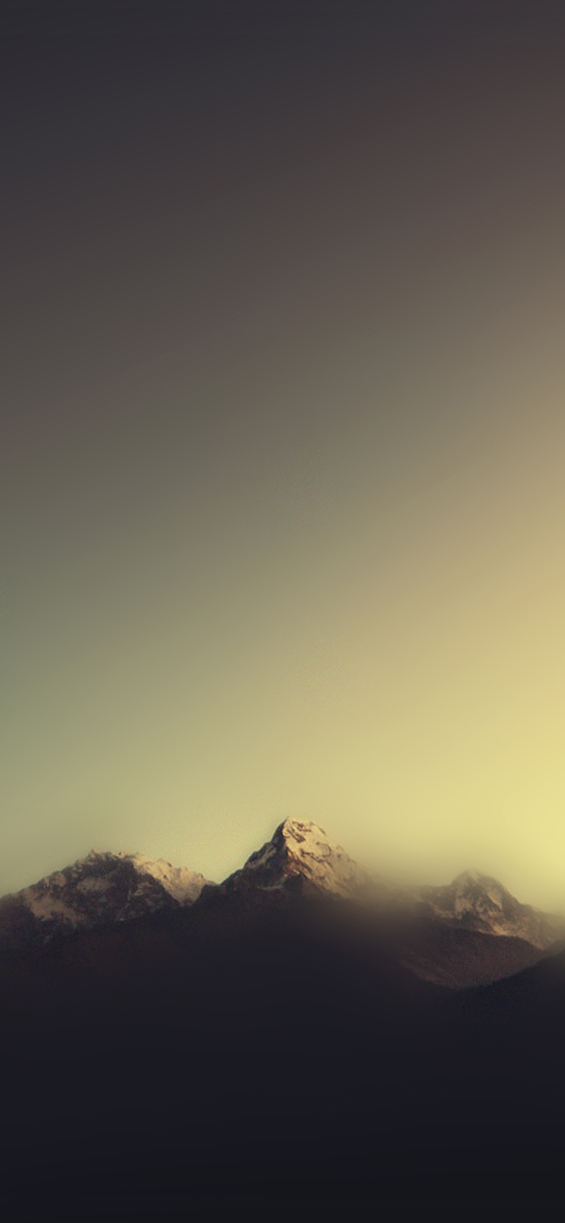 iPhoneXpapers.com-Apple-iPhone-wallpaper-ml07-mountain-blur-minimal-nature