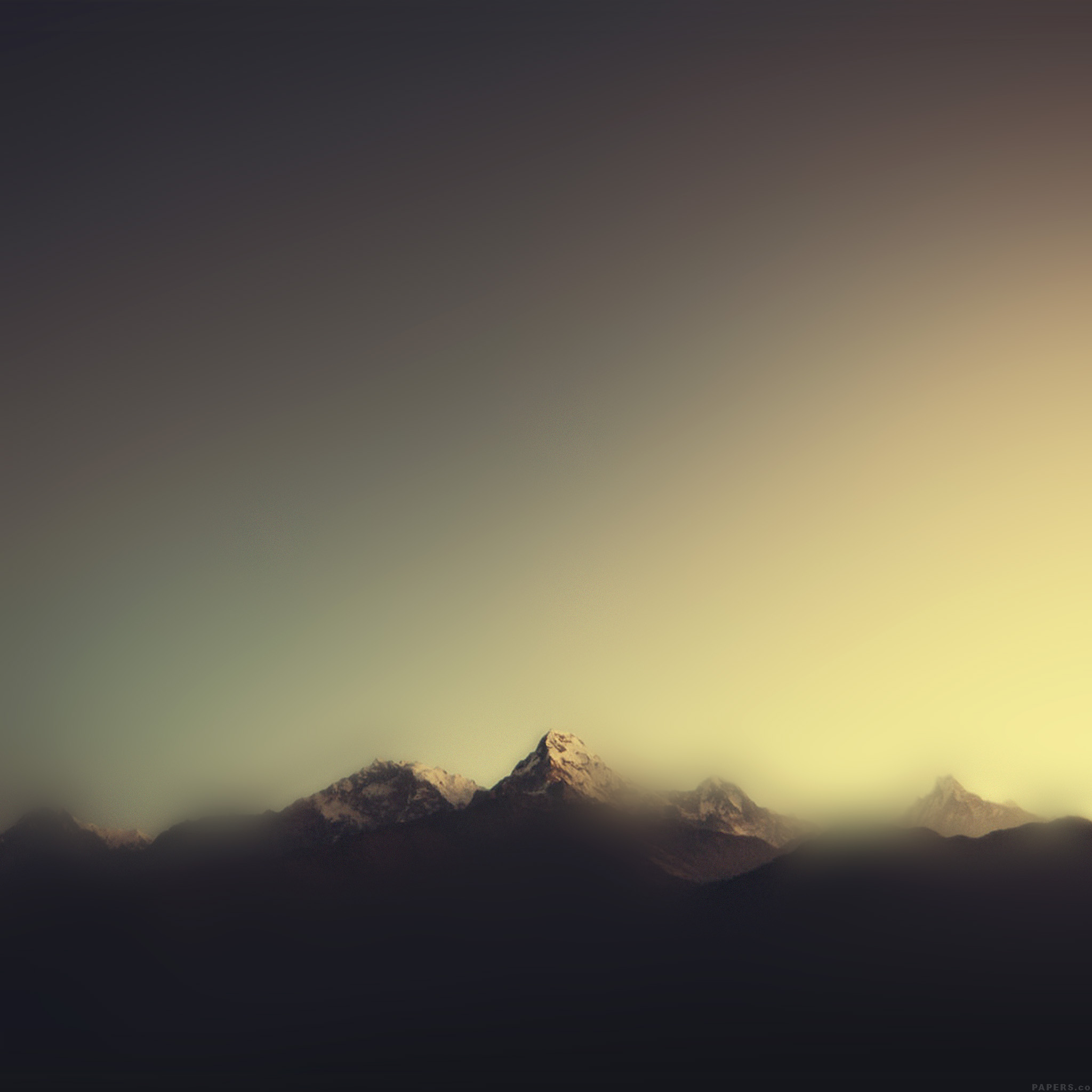 Wallpaper Iphone Minimalist: Ml07-mountain-blur-minimal-nature