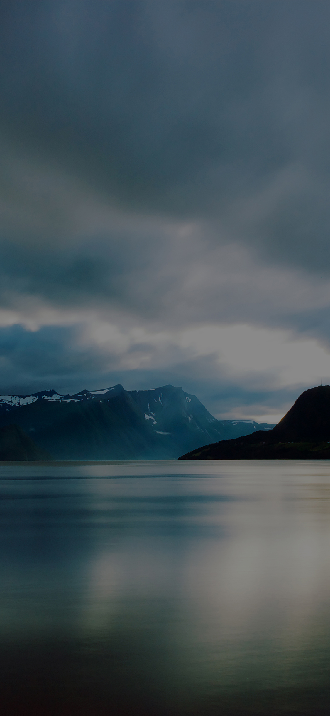 iPhoneXpapers.com-Apple-iPhone-wallpaper-ml11-lake-mountain-dark-calm-nature