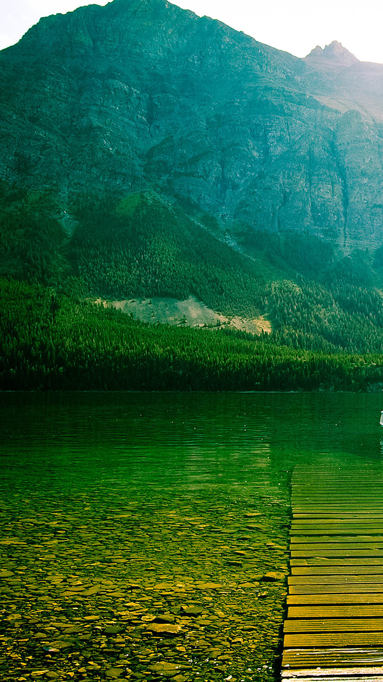 iPhone7papers.com-Apple-iPhone7-iphone7plus-wallpaper-ml13-little-chief-lake-green-mountain-nature