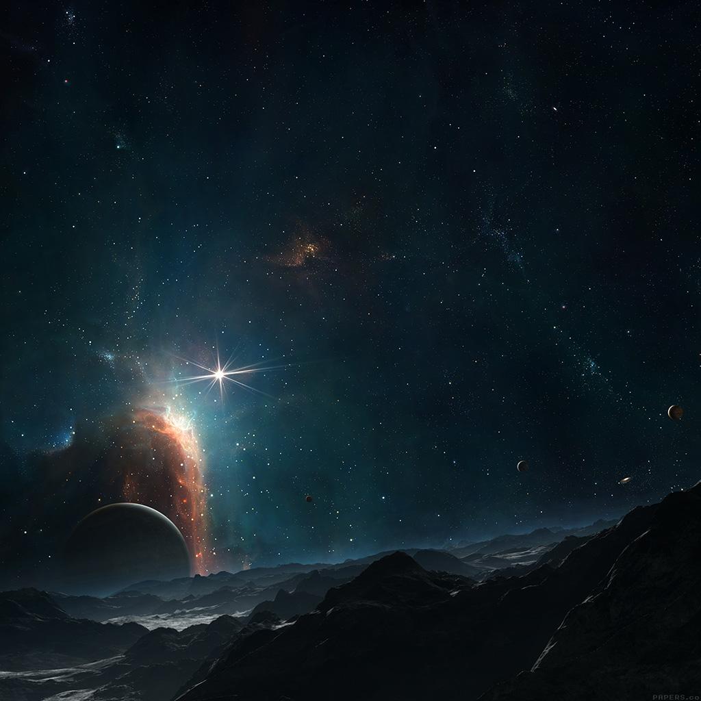 Ipad retina - Dark space wallpaper ...