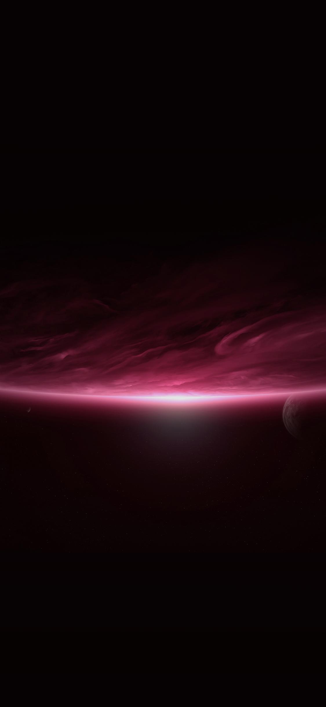 iPhoneXpapers.com-Apple-iPhone-wallpaper-ml52-space-sunrise-red-dark-minimal