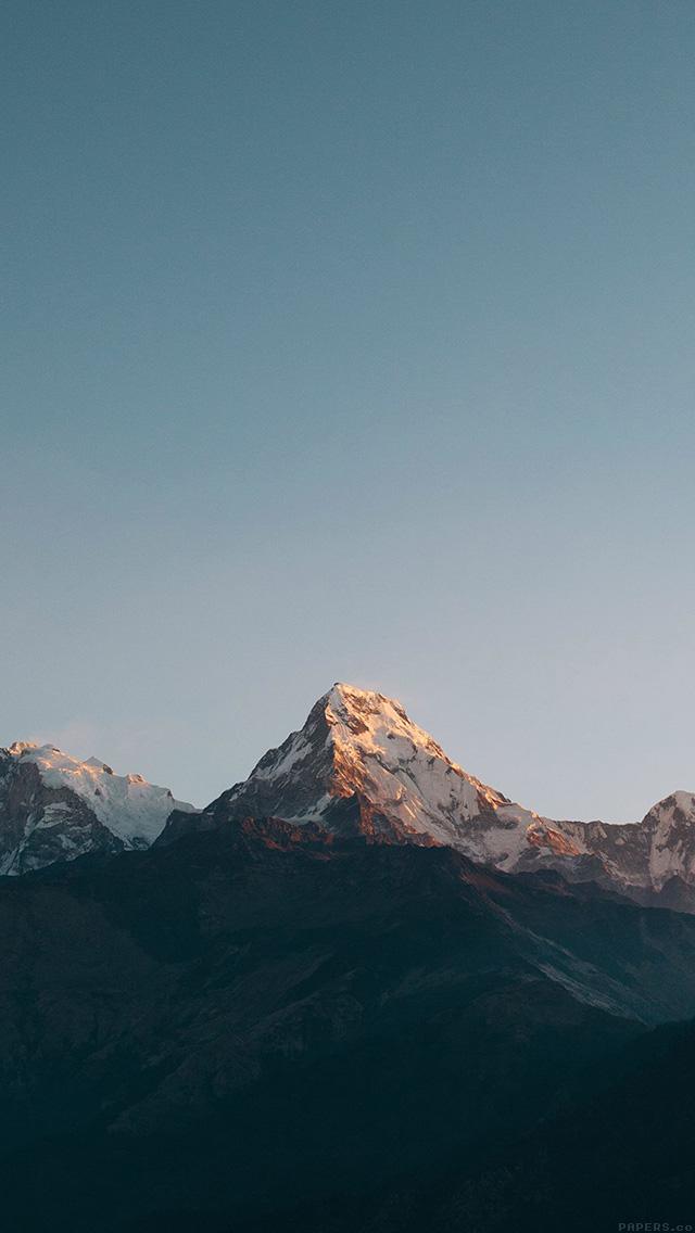 Freeios7 ml63 mountain high sky nature rocky parallax - Nature wallpaper status ...
