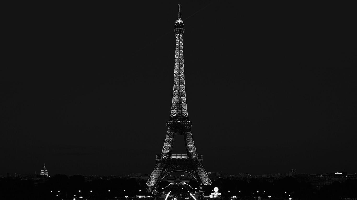 desktop-wallpaper-laptop-mac-macbook-airml79-paris-night-france-city-bw-dark-eiffel-tower-wallpaper