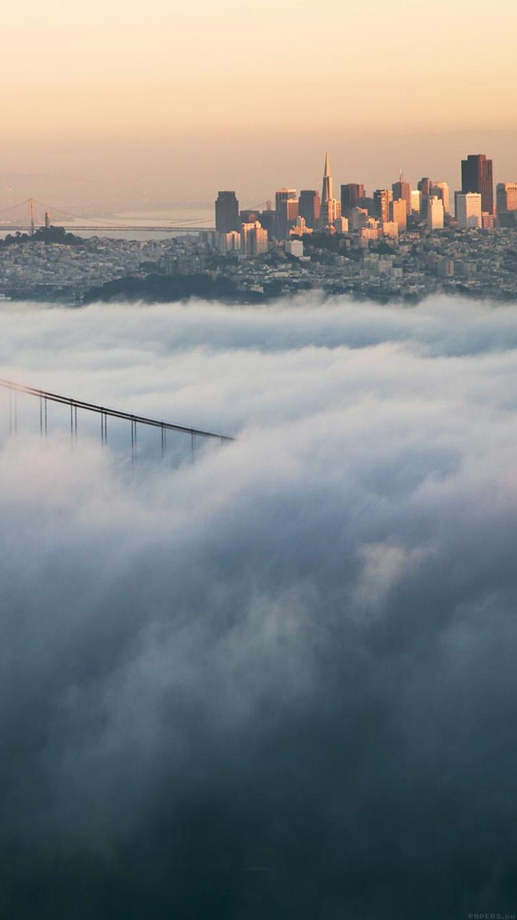 iPhone7papers.com-Apple-iPhone7-iphone7plus-wallpaper-ml90-bridge-fog-city-river-peace-lake-nature