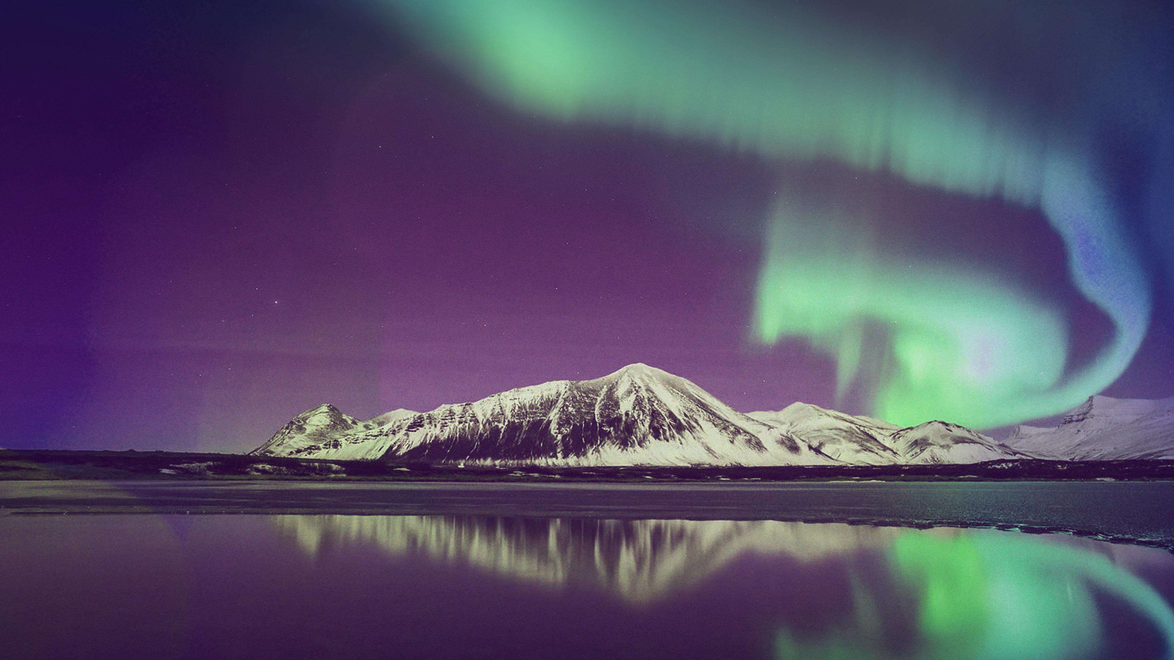 ml94-aurora-night-sky-red-bokeh-instagram-art-nature-wallpaper