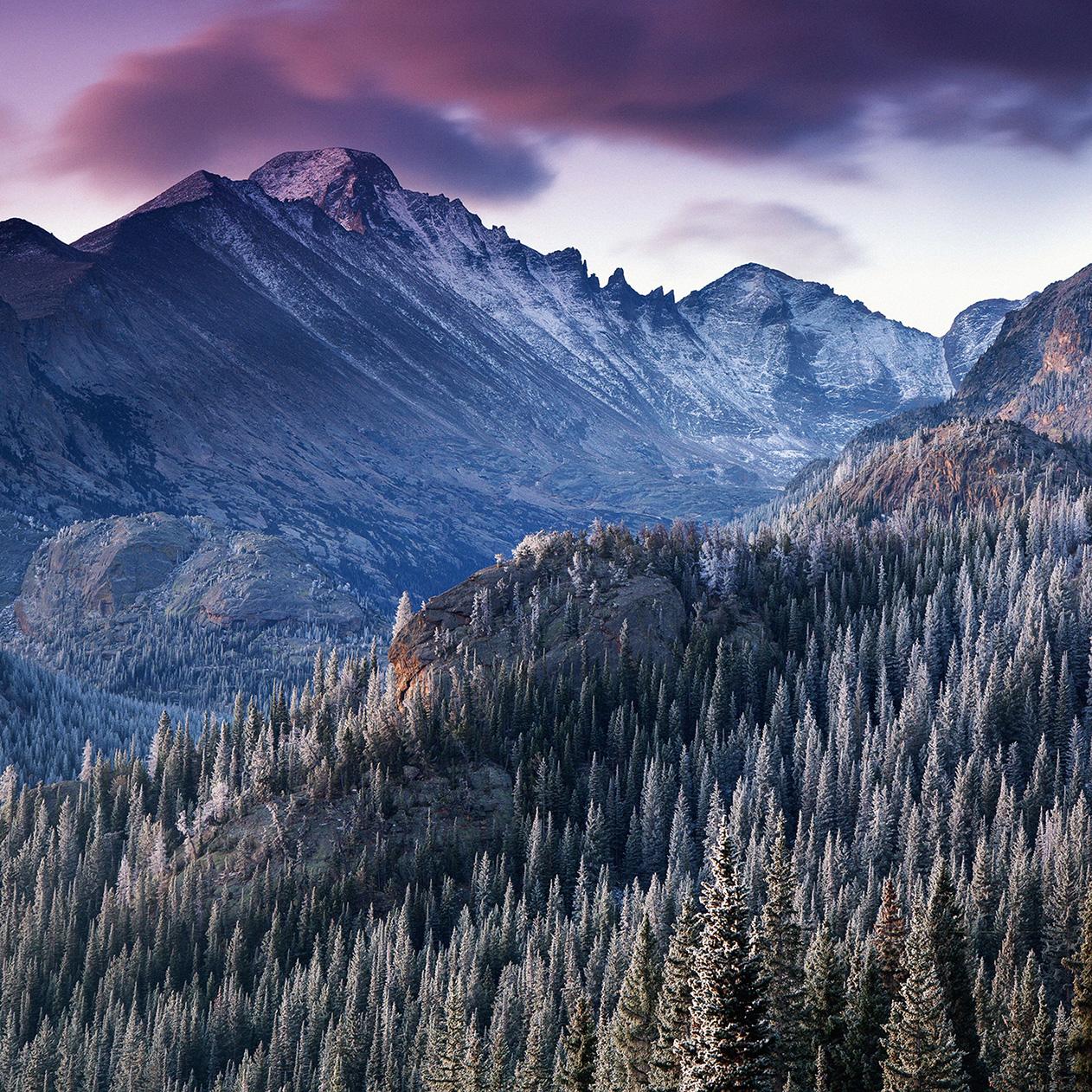 Nature Snow Mountain Landscape