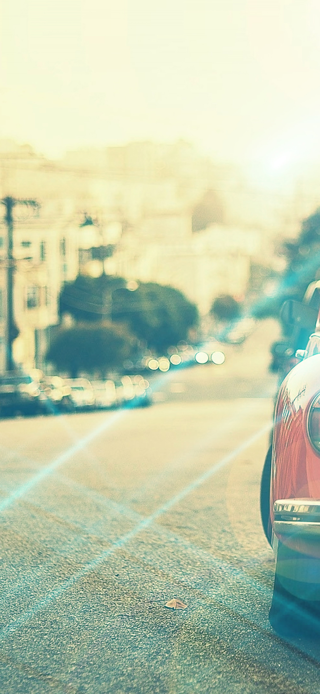 Papers Co Iphone Wallpaper Mm14 Old Car Street Vintage Flare