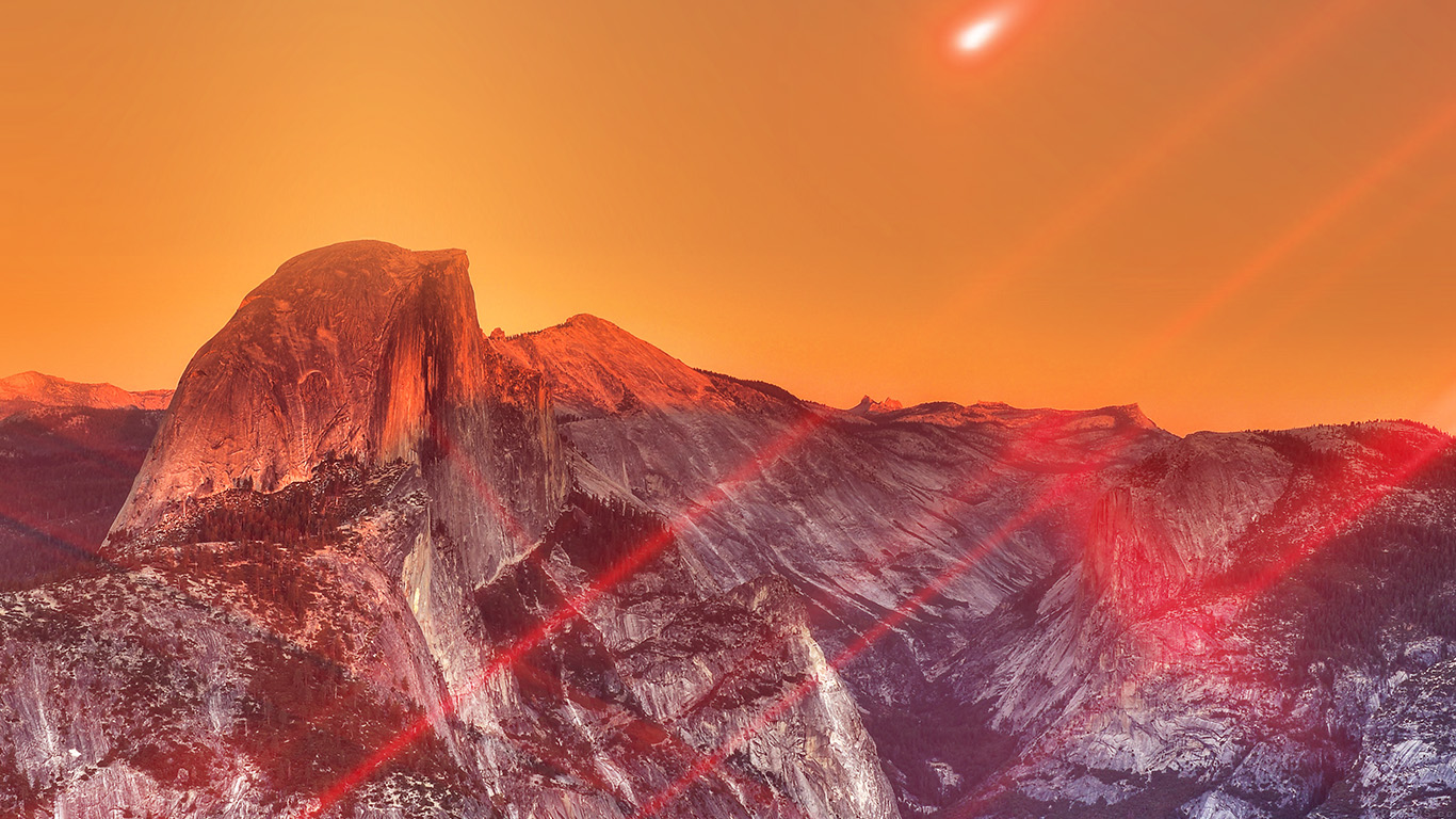 desktop-wallpaper-laptop-mac-macbook-air-mm27-yosemite-mountain-art-red-flare-sky-nature-wallpaper