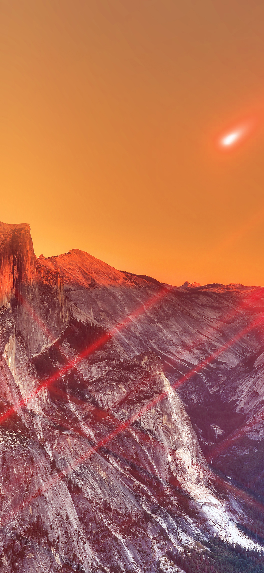 iPhonexpapers.com-Apple-iPhone-wallpaper-mm27-yosemite-mountain-art-red-flare-sky-nature