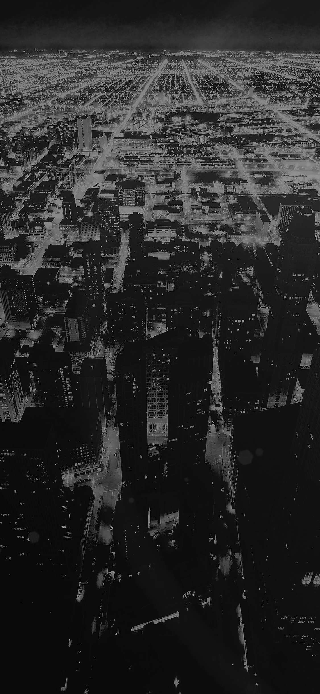 iPhoneXpapers.com-Apple-iPhone-wallpaper-mm57-chicago-night-sky-city-dark-bw