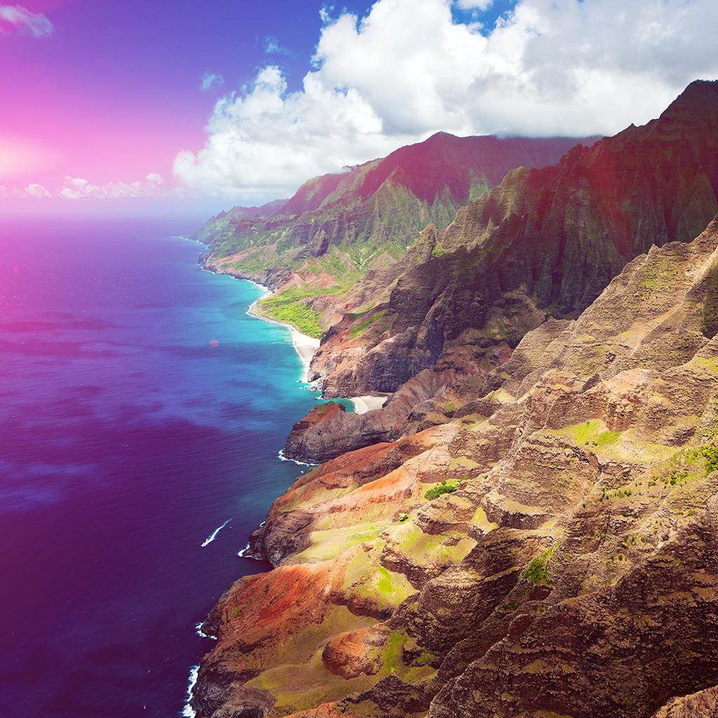 android-wallpaper-mm70-sea-side-view-flare-mountain-nature-wallpaper