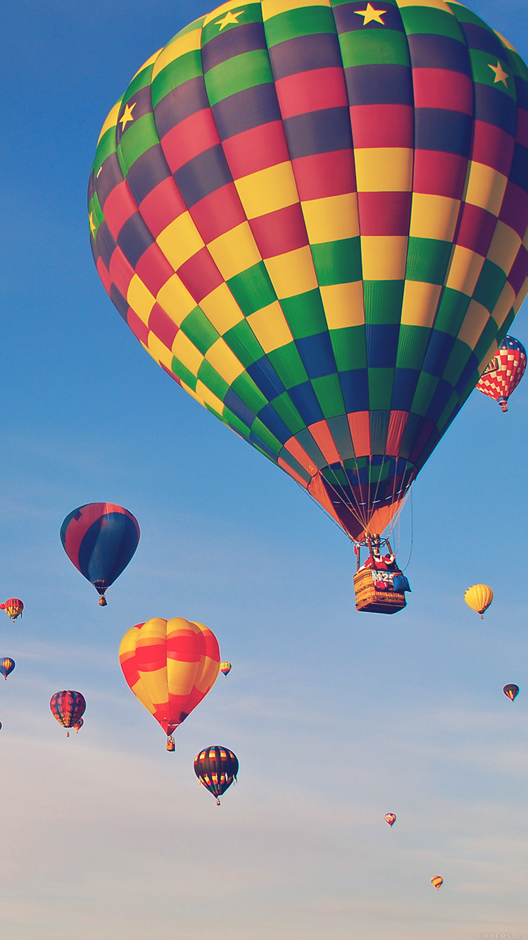 iPhonepapers.com-Apple-iPhone8-wallpaper-mm86-hot-air-balloon-party-nature-sky