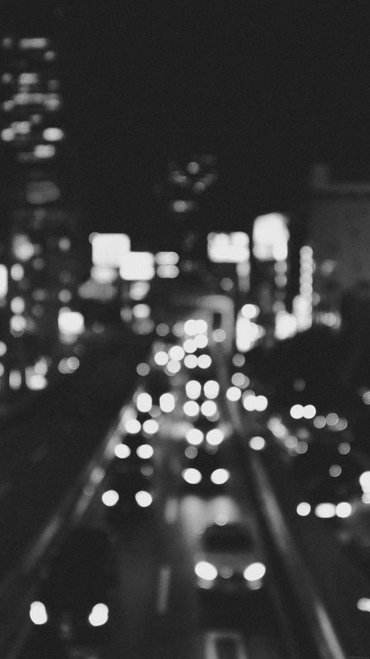 Mn04 city bokeh night street nature israel sundseth - Black and white hd wallpapers black background ...