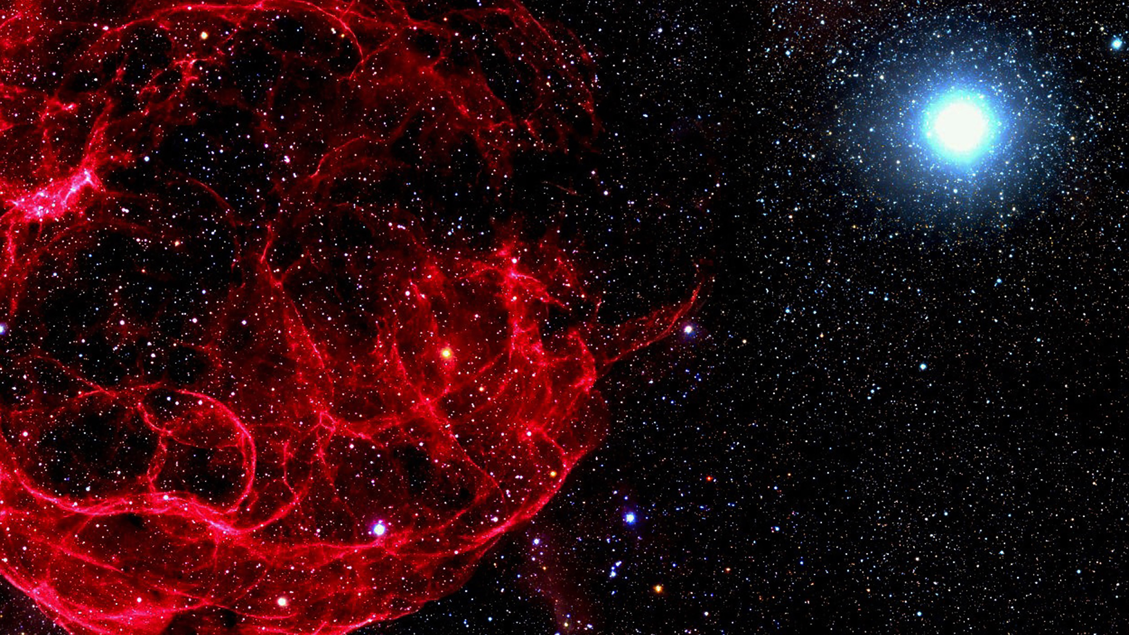 mn16-space-red-bigbang-star-art-nature - Papers.co