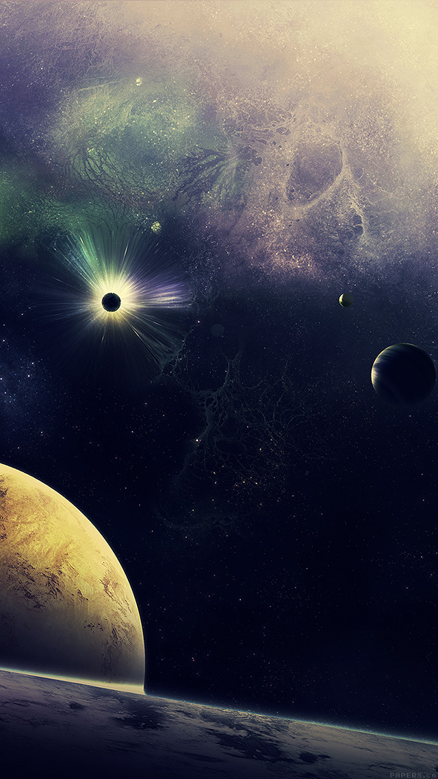 freeios8.com-iphone-4-5-6-plus-ipad-ios8-mn19-stars-planets-lost-blue-art-nature