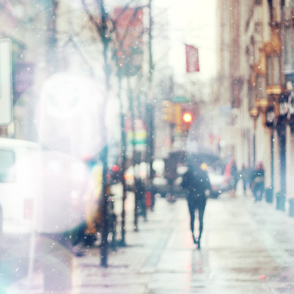 android-wallpaper-mn27-snow-street-bokeh-flare-winter-walk-city-day-nature-wallpaper