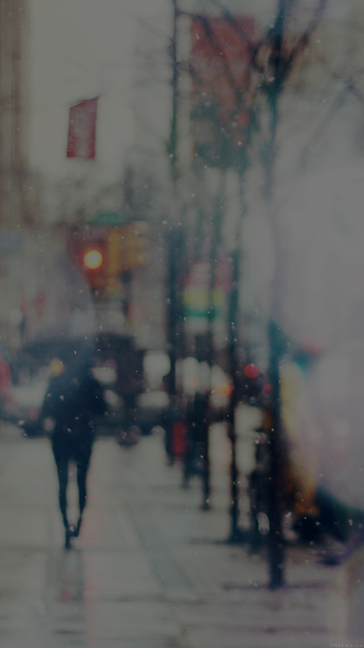iPhone6papers.co-Apple-iPhone-6-iphone6-plus-wallpaper-mn28-snow-street-bokeh-dark-winter-walk-city-day-nature