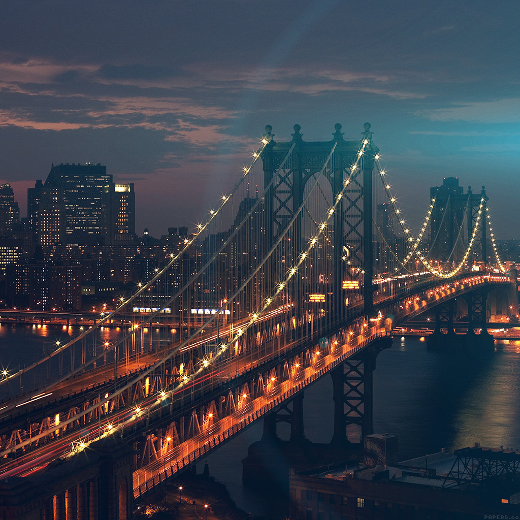 android-wallpaper-mn30-bridge-city-river-flare-blue-night-view-nature-wallpaper