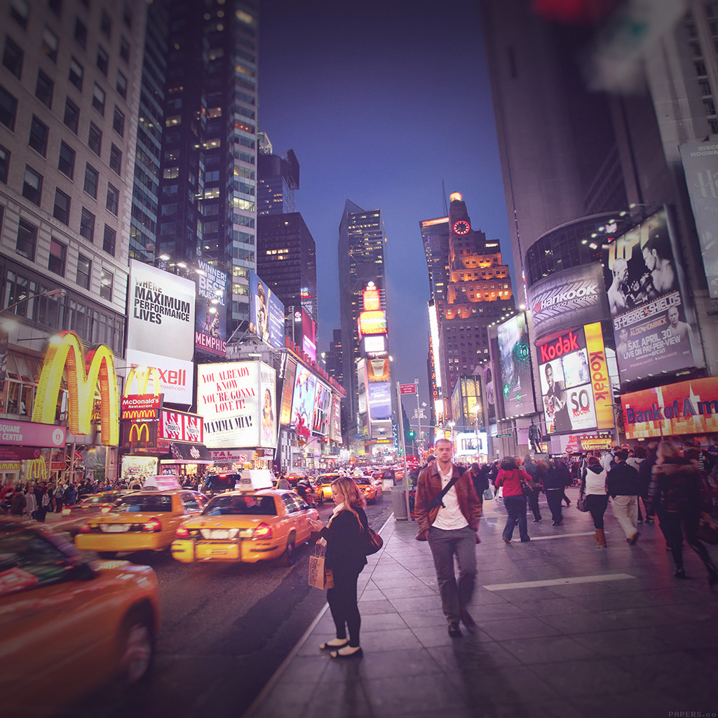 wallpaper-mn65-new-york-street-night-city-vignette-wallpaper