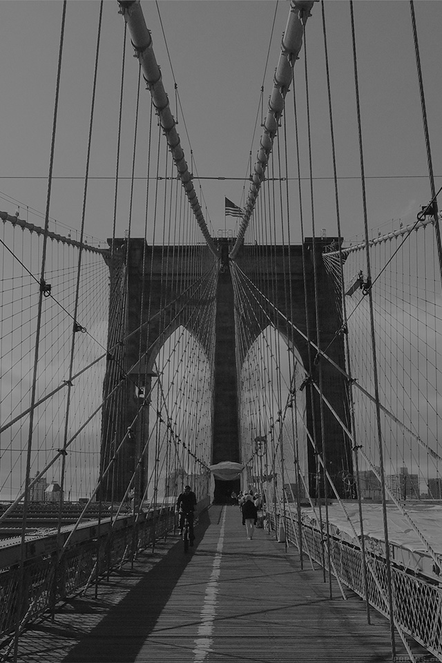 freeios7.com-iphone-4-iphone-5-ios7-wallpapermn94-piotr-kwiatkowski-bridge-dark-bw-river-city-iphone4