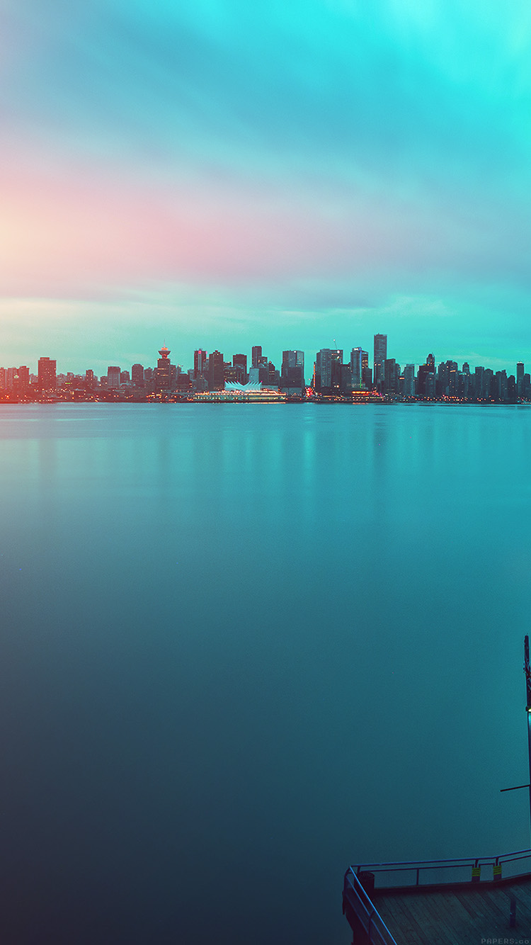 iPhone7papers.com-Apple-iPhone7-iphone7plus-wallpaper-mn98-lake-city-green-flare-afternoon-nature