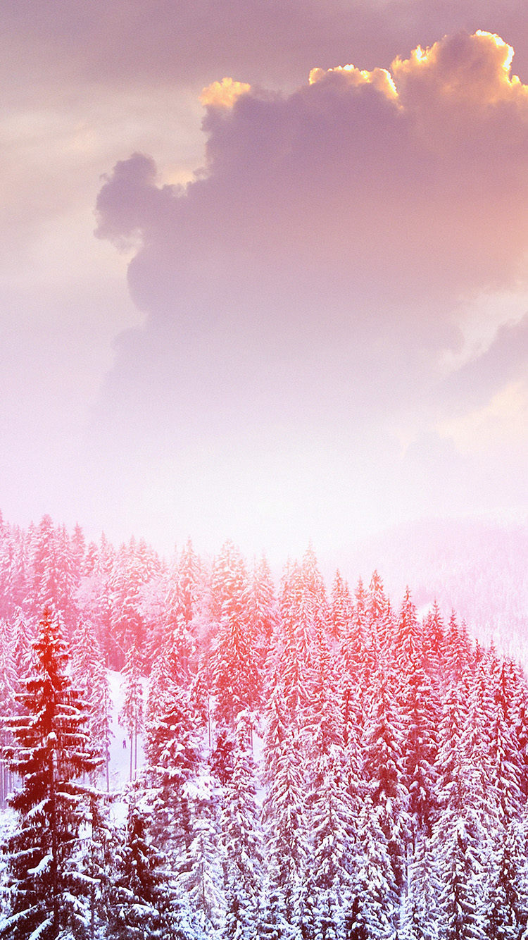 iPhone6papers.co-Apple-iPhone-6-iphone6-plus-wallpaper-mo00-winter-mountain-snow-white-red-nature