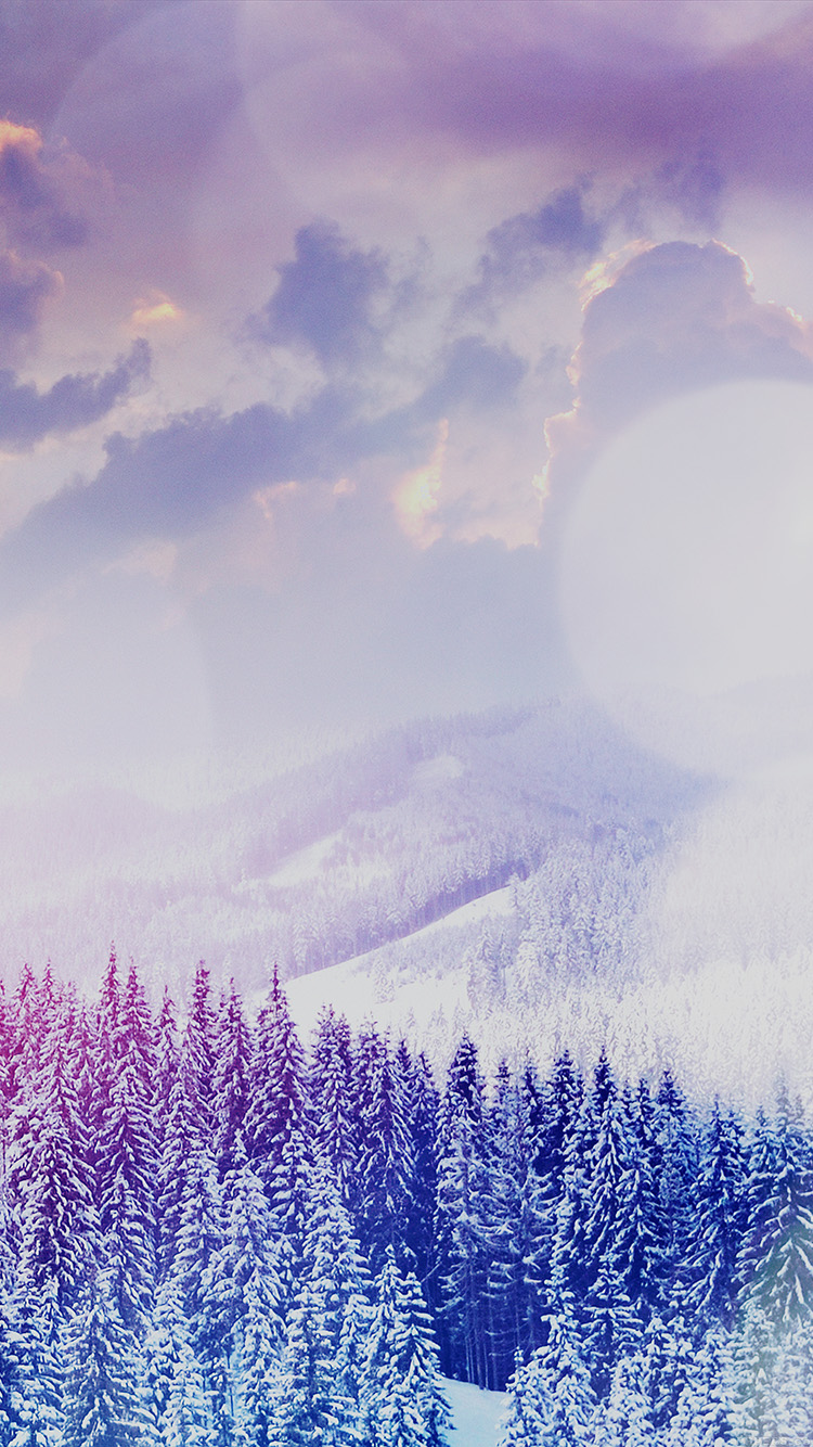iPhone6papers.co-Apple-iPhone-6-iphone6-plus-wallpaper-mo02-winter-mountain-snow-white-blue-flare-nature