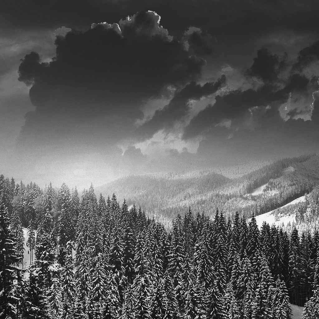 wallpaper-mo03-winter-mountain-snow-dark-bw-nature-wallpaper