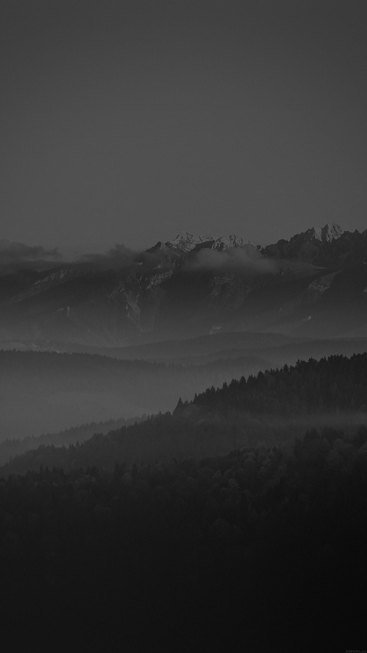cloudy mountain phone wallpaper - photo #25