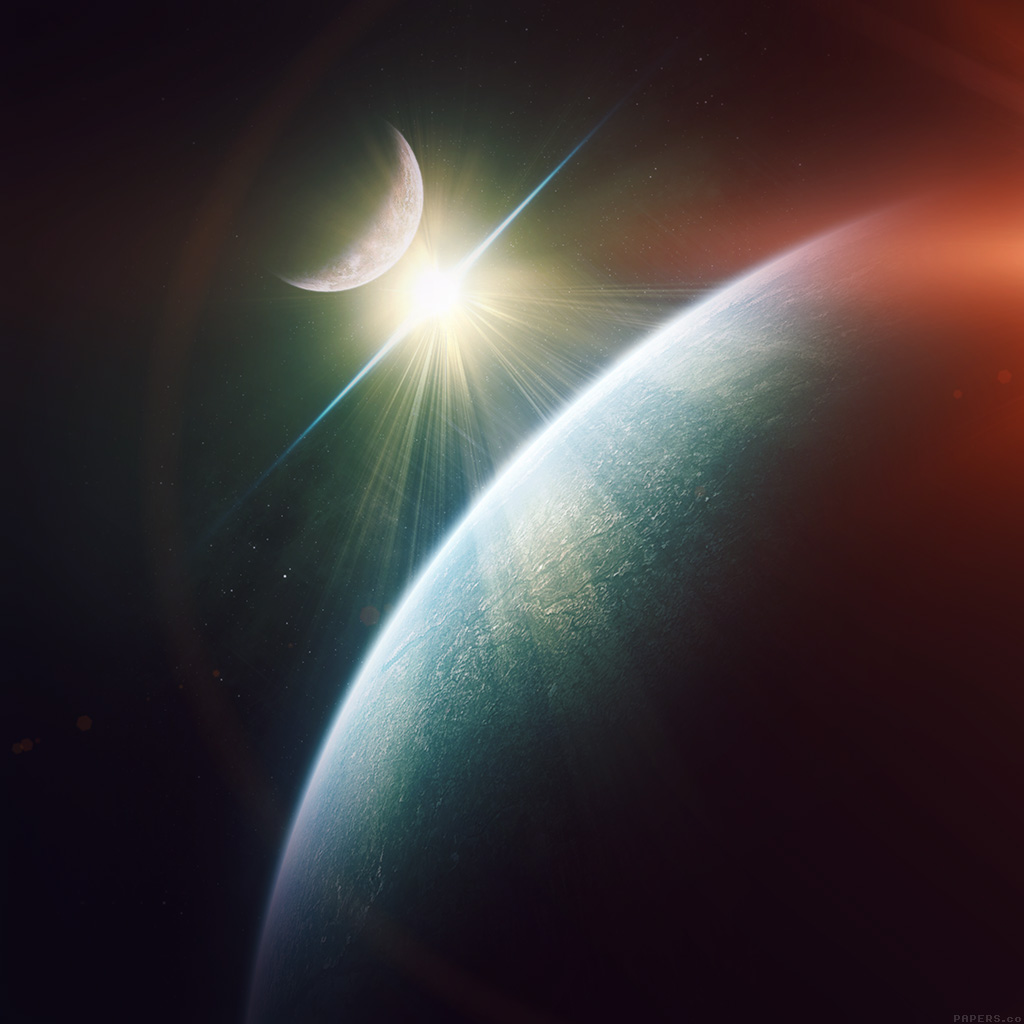 wallpaper-mo19-dark-space-world-earth-star-flare-wallpaper